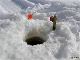 Winter fishing closed